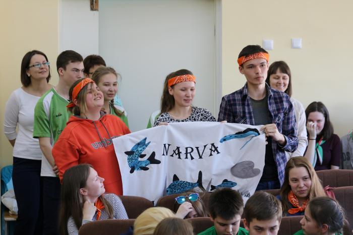 Команда из Эстонии
