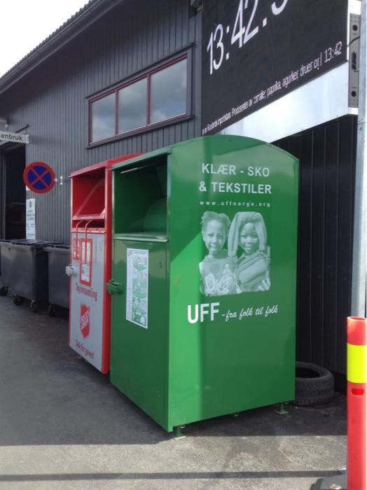 Одежда из этого контейнера попадет в сеть секонд хендов UFF